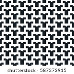 seamless t shirt pattern | Shutterstock .eps vector #587273915