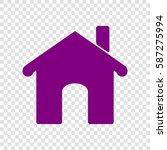 vector home icon illustration....