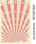 grunge vintage background with... | Shutterstock .eps vector #587287865
