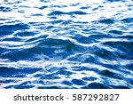 swimming pool with stair at... | Shutterstock . vector #587292827