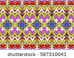 colorful horizontal pattern for ...   Shutterstock . vector #587310041