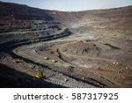 Iron Ore Quarry. Mining...