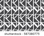 abstract triangle pattern | Shutterstock .eps vector #587380775