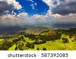 ethiopia. lalibela and... | Shutterstock . vector #587392085