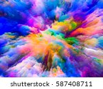 color explosion series.... | Shutterstock . vector #587408711