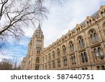 natural history museum of... | Shutterstock . vector #587440751
