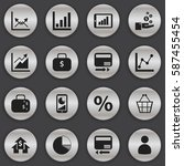 set of 16  logical icons....
