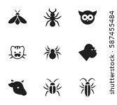 set of 9  zoo icons. includes...