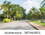 abstract blur city park bokeh... | Shutterstock . vector #587463851