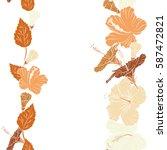 illustration on white... | Shutterstock . vector #587472821