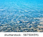 water surface as background.... | Shutterstock . vector #587504591