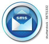sms icon | Shutterstock . vector #58751332