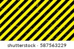 border with line yellow and... | Shutterstock .eps vector #587563229