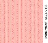 spring seamless sketch pattern. ... | Shutterstock . vector #587579111