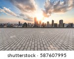 cityscape and skyline of... | Shutterstock . vector #587607995