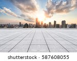 cityscape and skyline of... | Shutterstock . vector #587608055