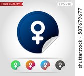 sex icon. button with sex icon. ...
