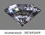 black diamond of classic...   Shutterstock . vector #587692649