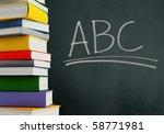 abcs   textbooks | Shutterstock . vector #58771981