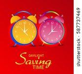 vector illustration of a banner ... | Shutterstock .eps vector #587737469