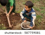 pan pet  myanmar   may 25  2016 ... | Shutterstock . vector #587759081
