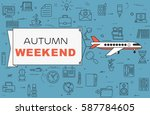 "airplane with banner ""autumn... 