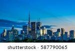 Toronto Skyline View From...