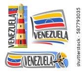 vector logo venezuela  3... | Shutterstock .eps vector #587793035