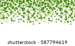 saint patrick's day seamless... | Shutterstock .eps vector #587794619