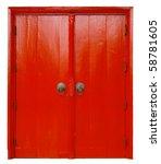 Red Door In Thailand