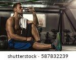 Drink Water. Shirtless...