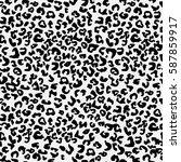 vector seamless pattern.... | Shutterstock .eps vector #587859917