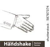 vector illustration. business...   Shutterstock .eps vector #58787374