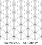 vector seamless pattern.... | Shutterstock .eps vector #587888459