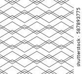 seamless geometric vector...   Shutterstock .eps vector #587893775