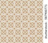 seamless geometric line pattern.... | Shutterstock .eps vector #587900771