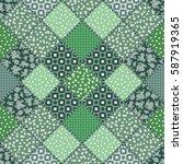 vector abstract seamless...   Shutterstock .eps vector #587919365