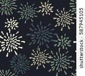 vector seamless pattern....   Shutterstock .eps vector #587945105