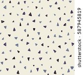 seamless triangle pattern....   Shutterstock .eps vector #587945819