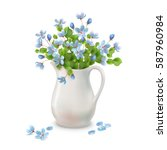 Vector Spring Bouquet In...
