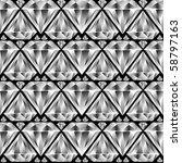 diamond seamless pattern ... | Shutterstock .eps vector #58797163