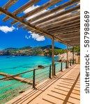 Seaside Promenade With Sea Vie...