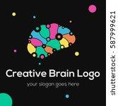 creative idea   business vector ... | Shutterstock .eps vector #587999621