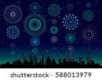 vector illustration of a... | Shutterstock .eps vector #588013979