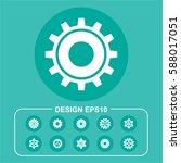 gear pictograph   Shutterstock .eps vector #588017051