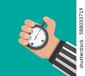 analog chronometer timer... | Shutterstock .eps vector #588033719