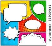 abstract creative concept... | Shutterstock .eps vector #588064661