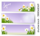 Vector Spring Background ...