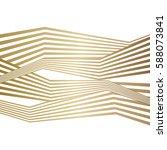 vector gold stripes background...   Shutterstock .eps vector #588073841