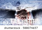 working together for better... | Shutterstock . vector #588074657